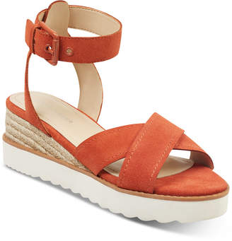 Marc Fisher Jovana Sport Wedge Sandals Women Shoes