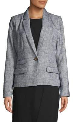 Donna Karan Long-Sleeve Blazer