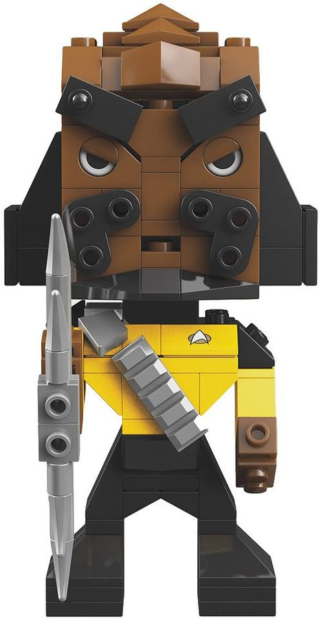 Mega bloks Star Trek: The Next Generation Klingon Worf Kubros Set by Mega Bloks