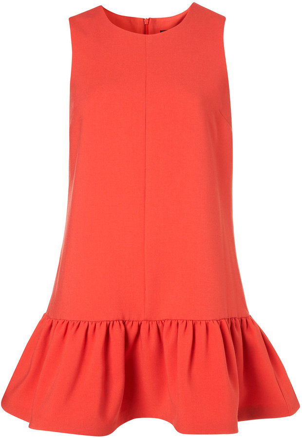 Petite Drop Waist Shift Dress