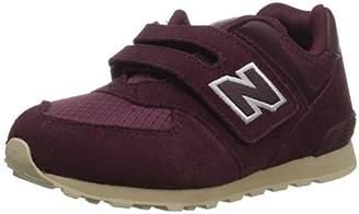 New Balance Girls' 574v1 Hook Loop Sneaker