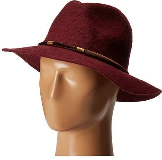 San Diego Hat Company CTH8074 Knit Fedora with Velvet Band Fedora Hats