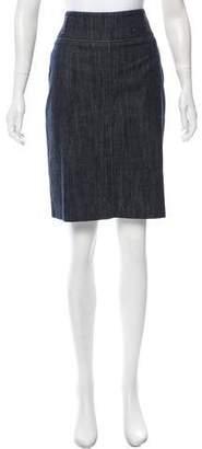 Bamford Denim Knee-Length Skirt
