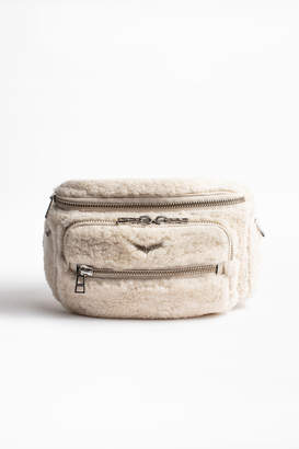 Zadig & Voltaire Shearling Fanny Pack