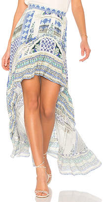 Camilla High Low Skirt