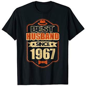 Mens Best Husband Since 1967 T-Shirt Retro 51th Anniversary