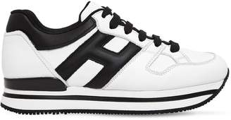 Hogan 50mm H222 Active Leather Sneakers