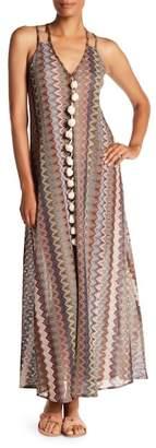 S.H.E. Pompom Maxi Dress