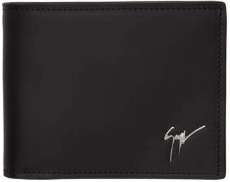Giuseppe Zanotti Black Logo Wallet