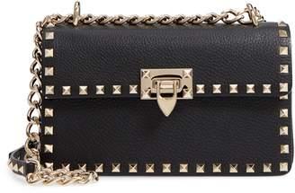 Valentino Rockstud Small Leather Crossbody Bag