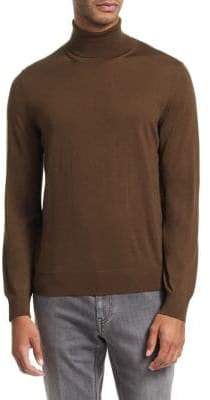 Ermenegildo Zegna Plain Stitch Turtleneck Sweater