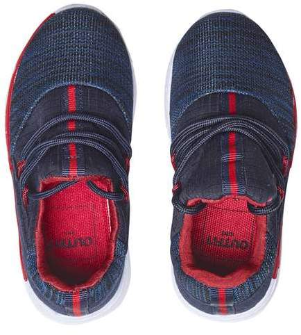 **Boys Navy Mesh Sports Trainers (5 - 12 years)