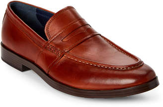 Cole Haan British Tan Jefferson Grand Penny Loafers