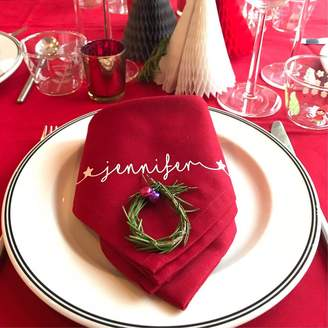 red linen napkins shopstyle uk rh shopstyle co uk