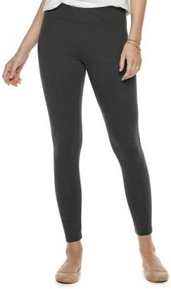 Sonoma Goods For Life Women's SONOMA Goods for Life Jersey Midrise Leggings