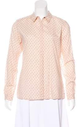 Scotch & Soda Printed Long Sleeve Top