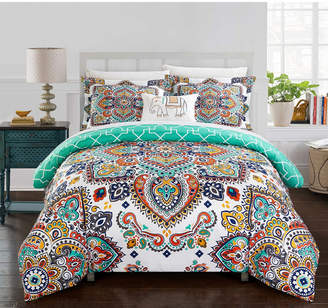 Chic Home Karen 4 Pc Queen Duvet Cover Set Bedding