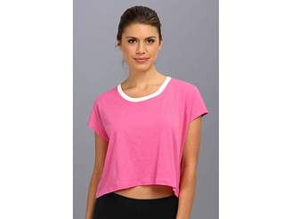 C&C California Shape Loose Crop Tee Women's T Shirt