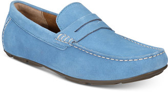 Alfani Men's Sal Suede Penny Drivers, Only at Macy's $79.99 thestylecure.com