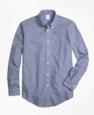 Brooks Brothers Non-Iron Regent Fit Micro Check Sport Shirt