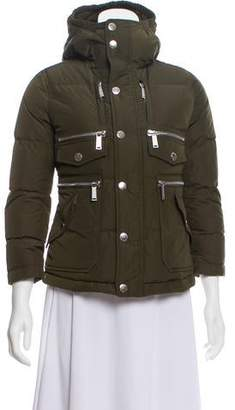 DSQUARED2 Hooded Down Puffer Jacket