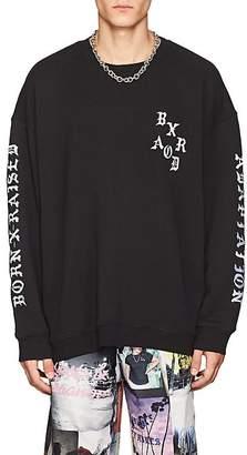 ADAPTATION / BORN X RAISED Men's Embroidered Cotton Terry Sweatshirt