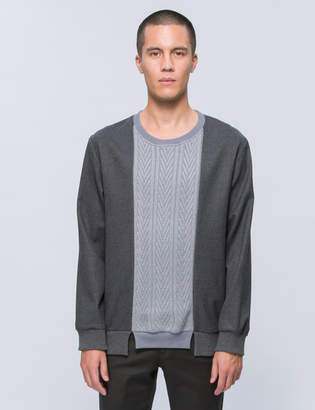 Discovered Knit Mix Pullover