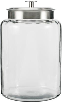 Anchor Hocking 2.5-Gallon Montana Jar with Brushed Metal Lid