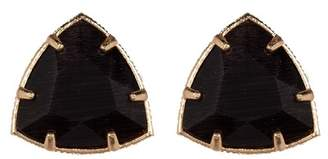 14th & Union Triangle Stone Stud Earrings