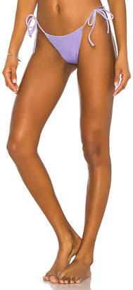 superdown x Chantel Jeffries Violet String Bikini Bottom