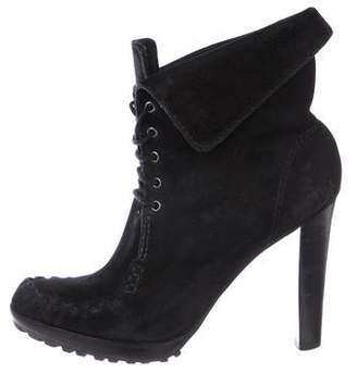 Diane von Furstenberg Jameson Moccasin Ankle Boots
