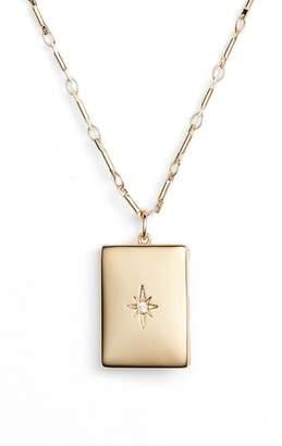Lulu DK x We Wore What Poppy Locket Necklace
