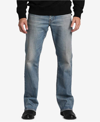 Silver Jeans Co. Men Zac Relaxed-Straight Fit Stretch Jeans