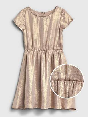 Gap Shimmer Fit and Flare Dress