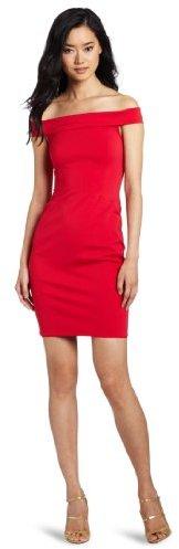 Halston Women's Off Shoulder Dress