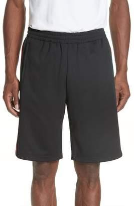Gucci Stripe Knit Track Shorts
