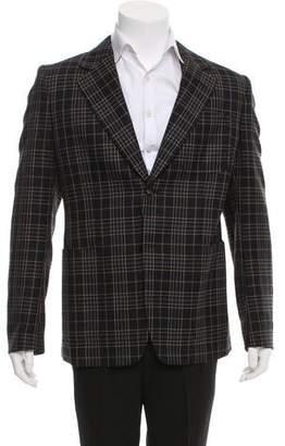 Maison Margiela Wool Plaid Sport Coat