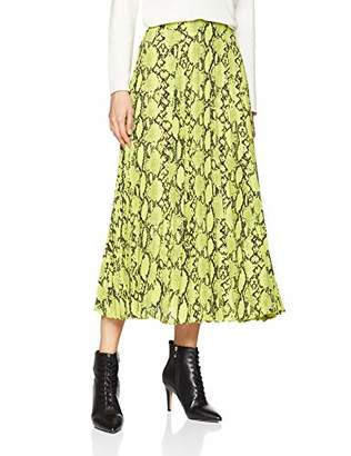 New Look Women's Neon Pelted Midi 6182915 Skirt,(Manufacturer Size:)