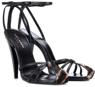 Saint Laurent ERA 110 leather sandals