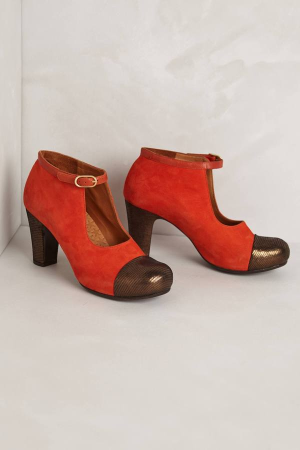 Anthropologie Alta Mary Jane Booties