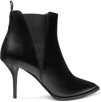 Acne Studios Jemma Leather Ankle Boots - Black