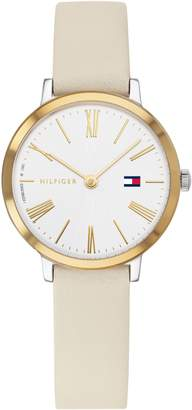 Tommy Hilfiger x Zendaya Leather Strap Watch, 28mm