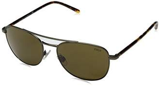 Polo Ralph Lauren Men's Metal Man Sunglass 0PH3107 Square Sunglasses