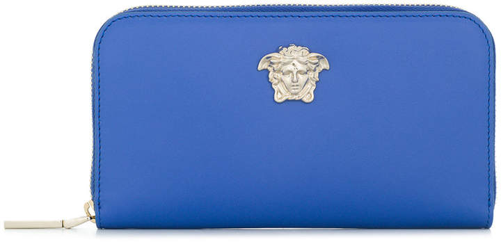 Versace medusa logo wallet