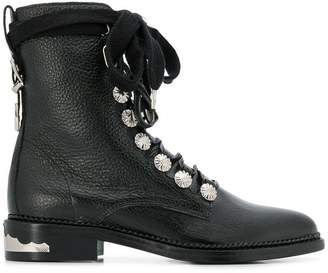 Toga lace-up ankle boots