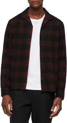 AllSaints Boulder Slim Fit Shirt