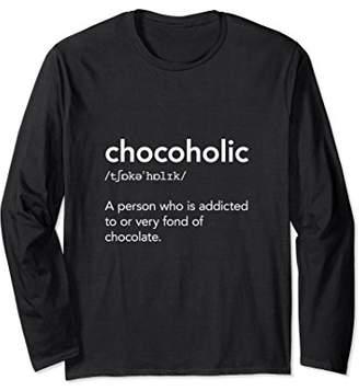 Chocolate Chocoholic Long Sleeve T-Shirt