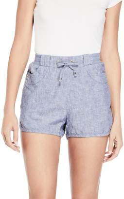 Factory Guess Women's Leena Linen Shorts