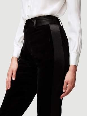 Frame Velvet Tux Pant