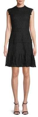Julia Jordan Lace A-Line Dress